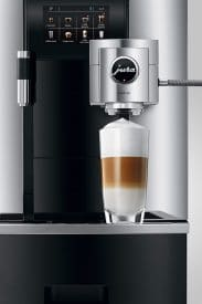 Jura Giga X8 Gen tall coffee brew