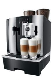 Jura Giga X8 Gen two tall coffee brew